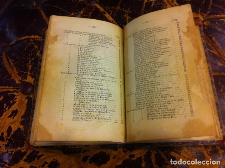 Libros antiguos: FRANCISCO FIGUEREDO. EL ARTE CULINARIO. ESCUELA DE COCINA Y PASTELERÍA MODERNA. 1889. BUENOS AIRES. - Foto 10 - 288075893