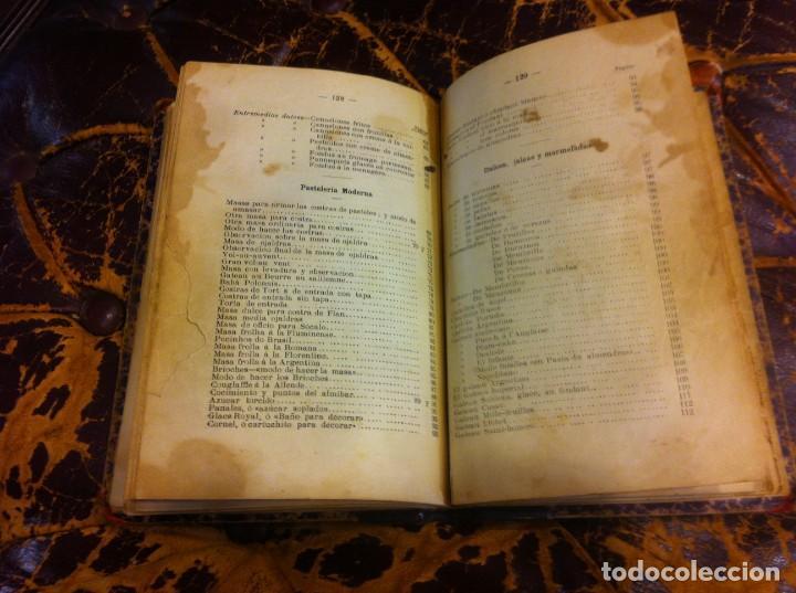 Libros antiguos: FRANCISCO FIGUEREDO. EL ARTE CULINARIO. ESCUELA DE COCINA Y PASTELERÍA MODERNA. 1889. BUENOS AIRES. - Foto 11 - 288075893