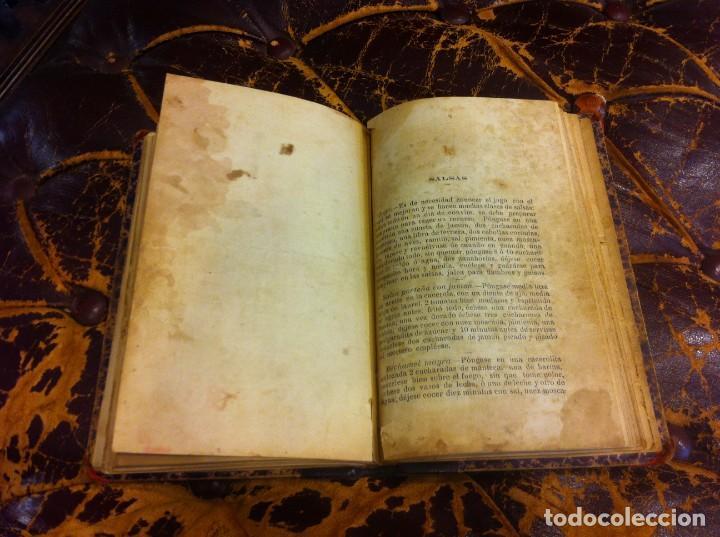Libros antiguos: FRANCISCO FIGUEREDO. EL ARTE CULINARIO. ESCUELA DE COCINA Y PASTELERÍA MODERNA. 1889. BUENOS AIRES. - Foto 13 - 288075893