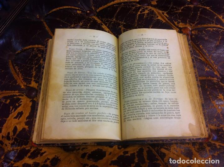 Libros antiguos: FRANCISCO FIGUEREDO. EL ARTE CULINARIO. ESCUELA DE COCINA Y PASTELERÍA MODERNA. 1889. BUENOS AIRES. - Foto 14 - 288075893