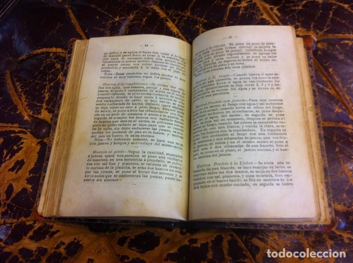 Libros antiguos: FRANCISCO FIGUEREDO. EL ARTE CULINARIO. ESCUELA DE COCINA Y PASTELERÍA MODERNA. 1889. BUENOS AIRES. - Foto 15 - 288075893