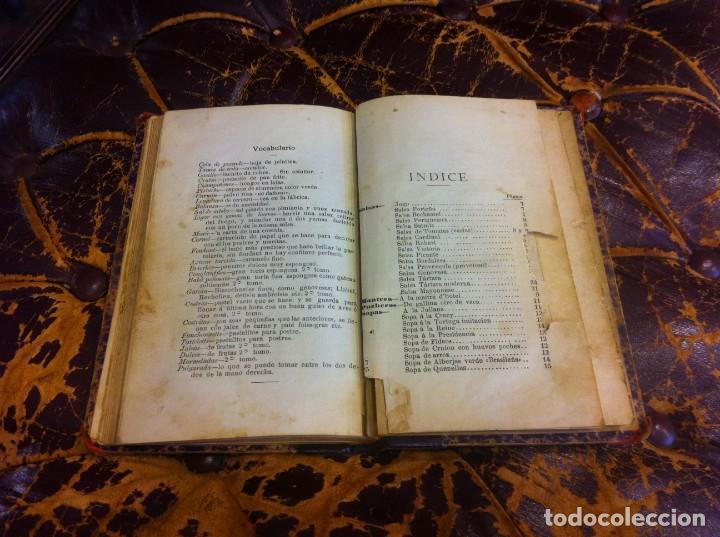Libros antiguos: FRANCISCO FIGUEREDO. EL ARTE CULINARIO. ESCUELA DE COCINA Y PASTELERÍA MODERNA. 1889. BUENOS AIRES. - Foto 16 - 288075893