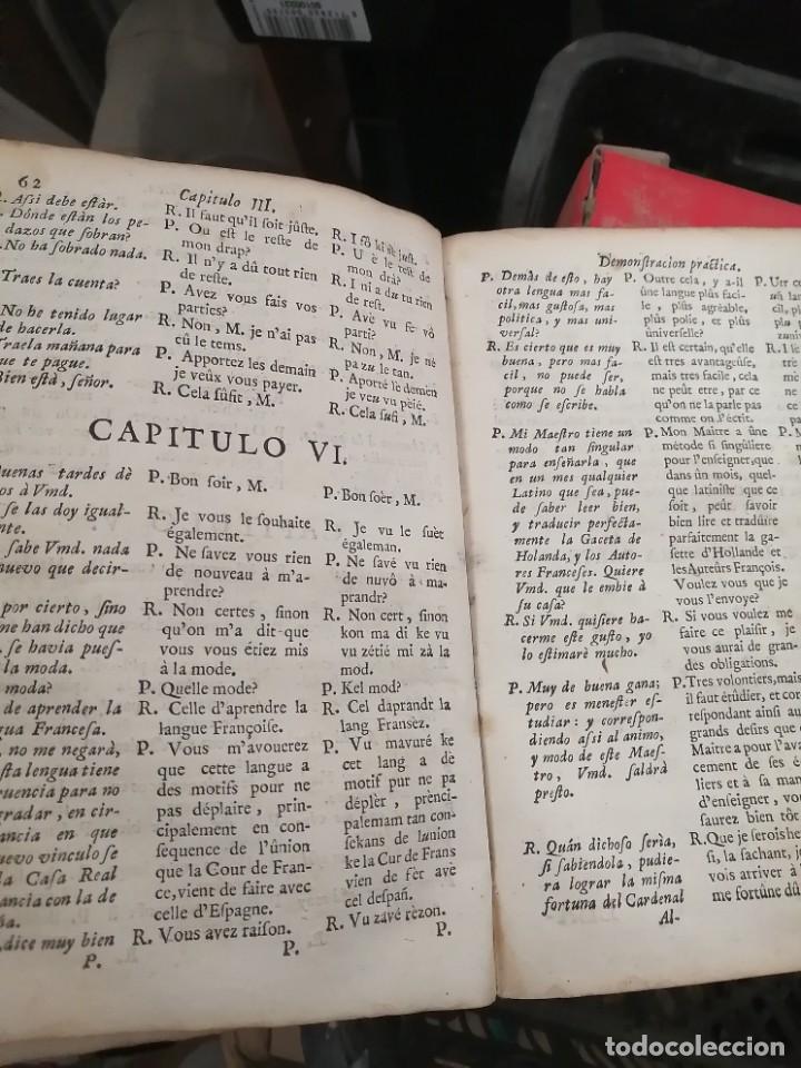 Libros antiguos: llave nueva y universal para aprender con brevedad y perfeccion la lengua francesa 1753 - Foto 5 - 288141798
