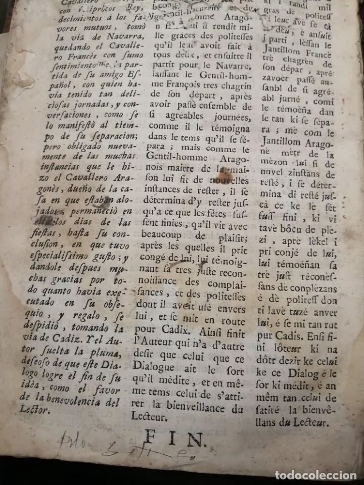 Libros antiguos: llave nueva y universal para aprender con brevedad y perfeccion la lengua francesa 1753 - Foto 6 - 288141798