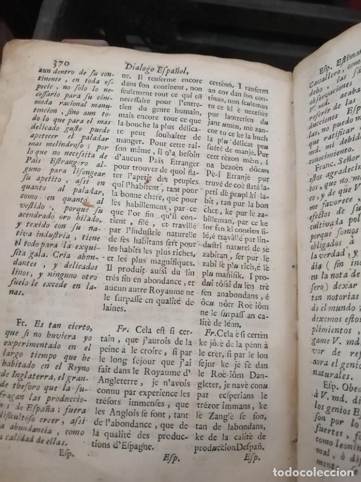 Libros antiguos: llave nueva y universal para aprender con brevedad y perfeccion la lengua francesa 1753 - Foto 7 - 288141798