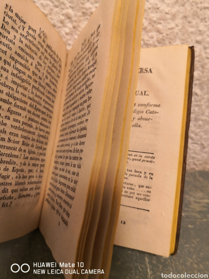 Libros antiguos: Quatre converses entre dos personatges dits Albert i Pasqual Thomas Bou 1830 - Foto 2 - 288160788