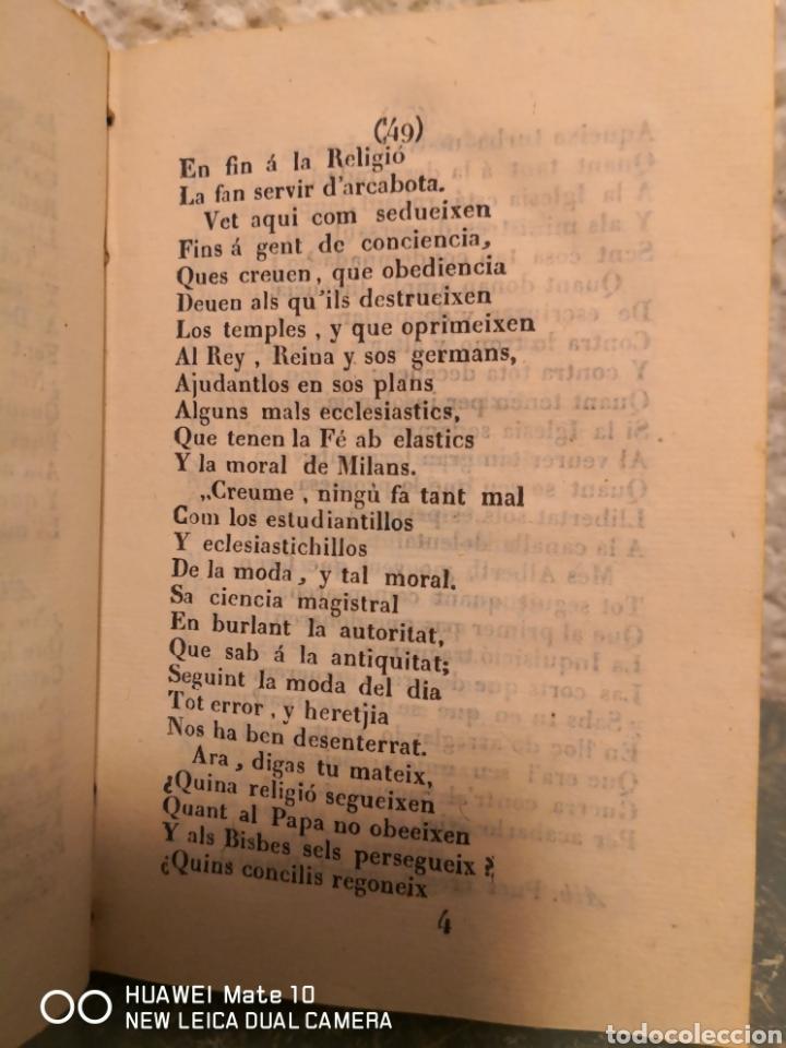 Libros antiguos: Quatre converses entre dos personatges dits Albert i Pasqual Thomas Bou 1830 - Foto 4 - 288160788