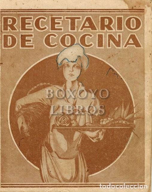 RECETARIO DE COCINA. ACEITE LA GIRALDA (Libros Antiguos, Raros y Curiosos - Cocina y Gastronomía)