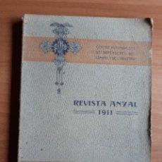 Libros antiguos: REVISTA ANYAL 1911 . CENTRE AUTONOMISTA DE DEPENDENTS DEL COMERS Y DE L'INDUSTRIA.. Lote 288356053