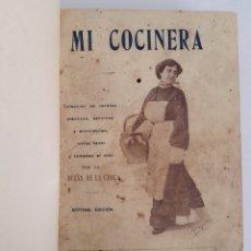 Libros antiguos: MI COCINERA. LA DUEÑA DE LA CASA. SÉPTIMA EDICIÓN. 1914. Lote 288454903