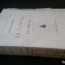 Libros antiguos: 1912 - ABAD Y LASIERRA - DOCUMENTOS HISTÓRICOS DE LA FLORIDA Y LA LUISIANA. SIGLOS XVI AL XVIII. Lote 288477633