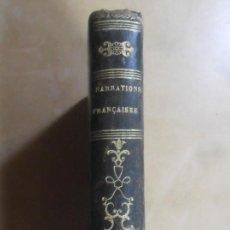 Libros antiguos: NARRATIONS FRANÇAISES, OU CHOIS DES NEILLEURS MORCEAUX - ED. DURDENT - 1821 * EN FRANCES. Lote 288538608