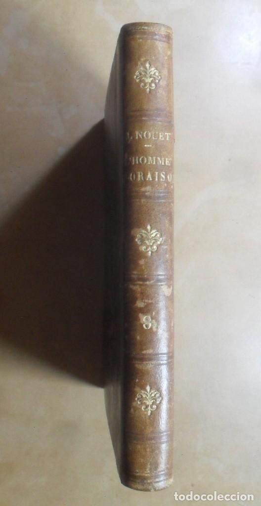L' HOMME D' ORAISON - P. JACQUES NOUET - ED. JACQUES LECOFFRE - 1866 * EN FRANCES (Libros Antiguos, Raros y Curiosos - Otros Idiomas)