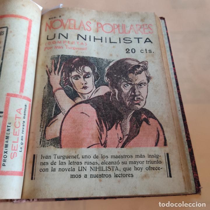 Libros antiguos: NOVELAS POPULARES. 12 NOVELAS ENCUADERNADAS. AÑO I. 1929. Nº 1 HASTA Nº 12. VER FOTOS. LEER. - Foto 8 - 288569448