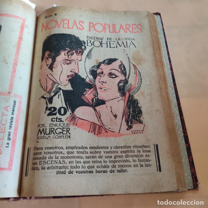 Libros antiguos: NOVELAS POPULARES. 12 NOVELAS ENCUADERNADAS. AÑO I. 1929. Nº 1 HASTA Nº 12. VER FOTOS. LEER. - Foto 10 - 288569448