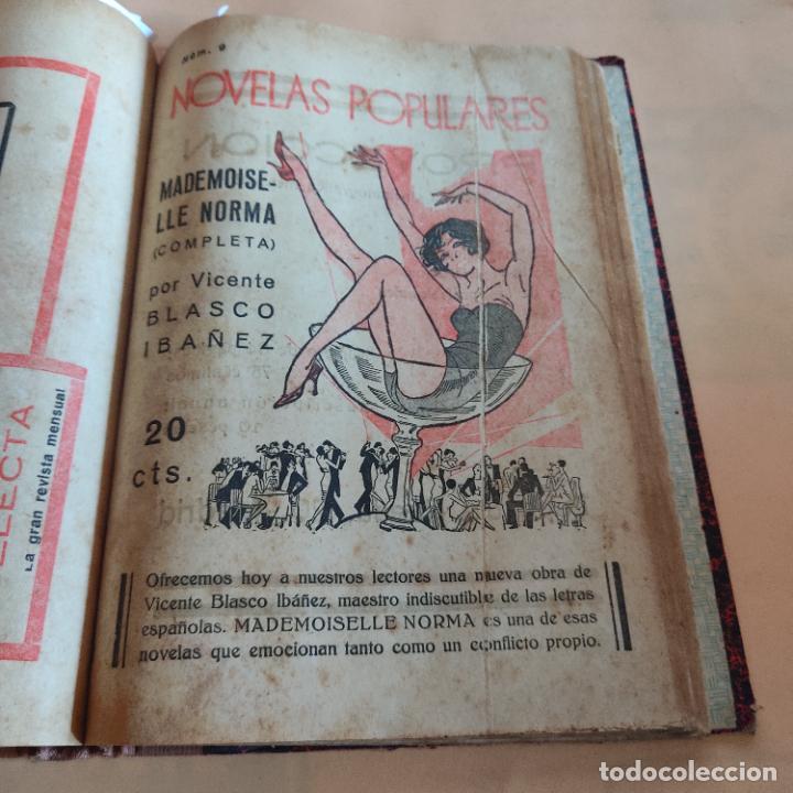 Libros antiguos: NOVELAS POPULARES. 12 NOVELAS ENCUADERNADAS. AÑO I. 1929. Nº 1 HASTA Nº 12. VER FOTOS. LEER. - Foto 11 - 288569448