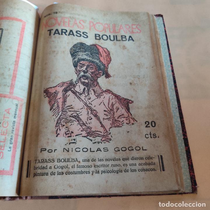 Libros antiguos: NOVELAS POPULARES. 12 NOVELAS ENCUADERNADAS. AÑO I. 1929. Nº 1 HASTA Nº 12. VER FOTOS. LEER. - Foto 12 - 288569448