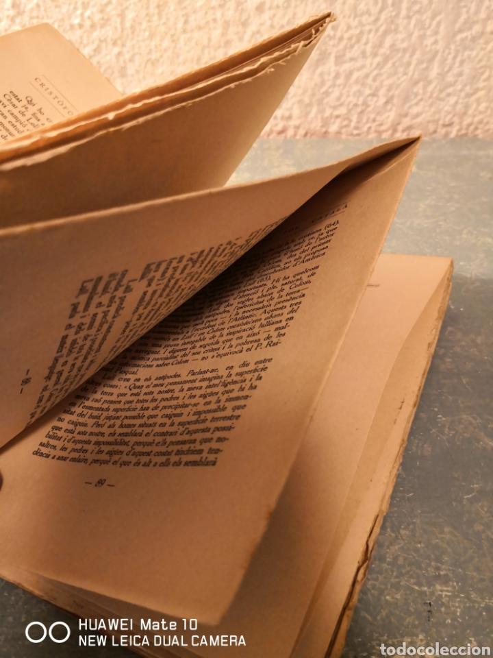 Libros antiguos: Cristòfor Colom fou català Lluís ulloa - Foto 4 - 288609893