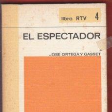 Libros antiguos: EL ESPERTADOR JOSE ORTEGA Y GASSET 187PAG AÑO1969 LE4281. Lote 288626468