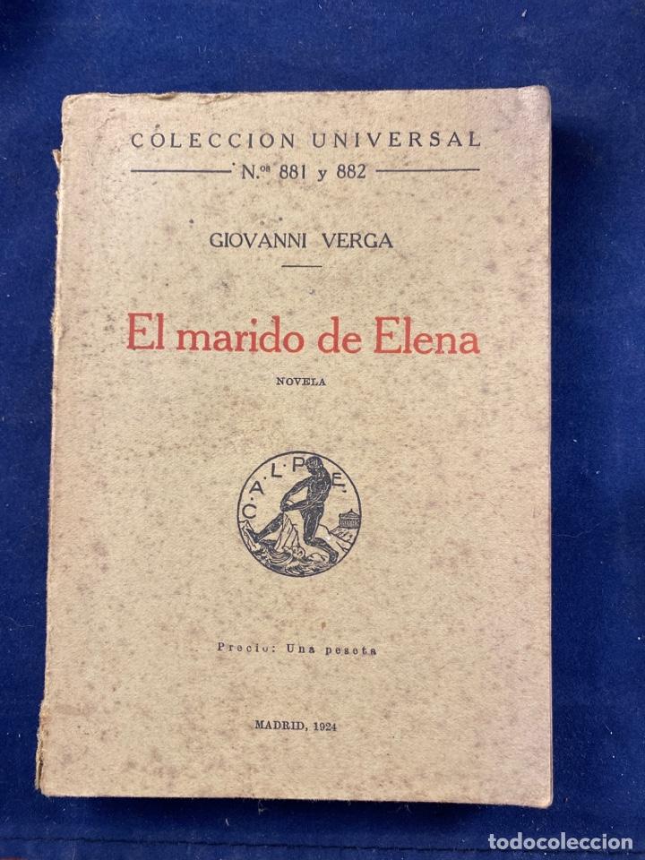 EL MARIDO DE ELENA (Libros antiguos (hasta 1936), raros y curiosos - Literatura - Narrativa - Otros)