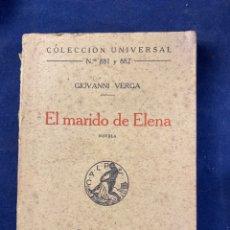 Libros antiguos: EL MARIDO DE ELENA. Lote 288643408
