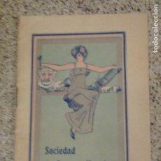 Libros antiguos: SOCIEDAD DE AUTORES NOVELES. IMP CALLEJA MADRID. 1910. Lote 288678538