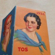 Libros antiguos: ANTIGUO SANTORAL 1934 PUBLICIDAD PASTILLAS DEL DR. ANDREU. Lote 288698283