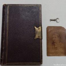 Libros antiguos: ANTIGUO LIBRO DIARIO INTIMO 1880 LONDRES ASPREY. Lote 288743888