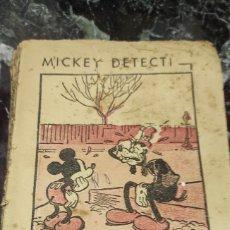 Libros antiguos: MICKEY DETECTIVE. 1934. Lote 288887418