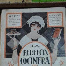 Libros antiguos: LA PERFECTA COCINERA. TOMO I (MADRID, HACIA 1925). Lote 288952263