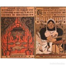 Libros antiguos: COCINA - RECETAS - COMMENT ON FORME UNE CUISINIÈRE - MADAME SEIGNOBOS. Lote 289226918