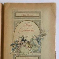 Libros antiguos: FÊTES GALANTES. - VERLAINE, PAUL. 325 EJEMPLARES.. Lote 123257783