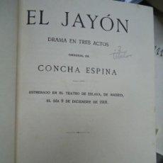 Libros antiguos: 2 OBRAS DE CONCHA ESPINA EL JAYON DE 1919 Y SIMIENTES DE 1922 SON DOS OBRAS EN 1 VOL.. Lote 289344138