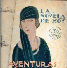 "Libros antiguos: 1925 LA NOVELA DE HOY Nº174 ""AVENTURAS... DE BONIFACIO SANABRIA"" L. ARAQUISTAIN IL. VARELA DE SEIJAS. Lote 289353293"