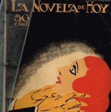 """Libros antiguos: 1924 LA NOVELA DE HOY Nº112 """"HUMO EN LOS OJOS"""" EL CABALLERO AUDAZ - ILUSTRADOR OCHOA. Lote 289359633"""