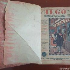 Libros antiguos: SEMANARIO ILUSTRADO ALGO 1929. Lote 289511543