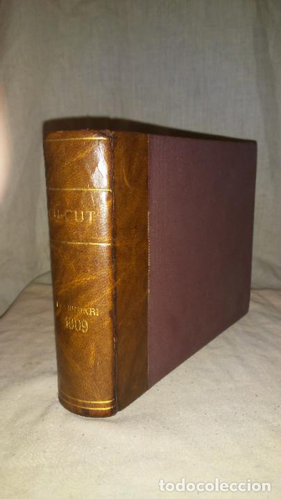Libros antiguos: Calendari Bloch ¡Cu-Cut! Any 1909. COMPLETO. - Foto 2 - 289881588