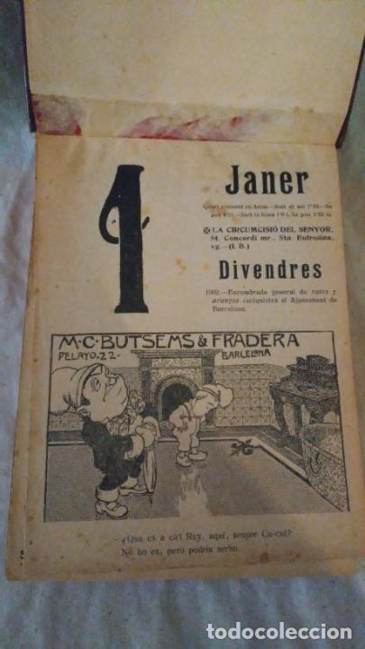 Libros antiguos: Calendari Bloch ¡Cu-Cut! Any 1909. COMPLETO. - Foto 3 - 289881588