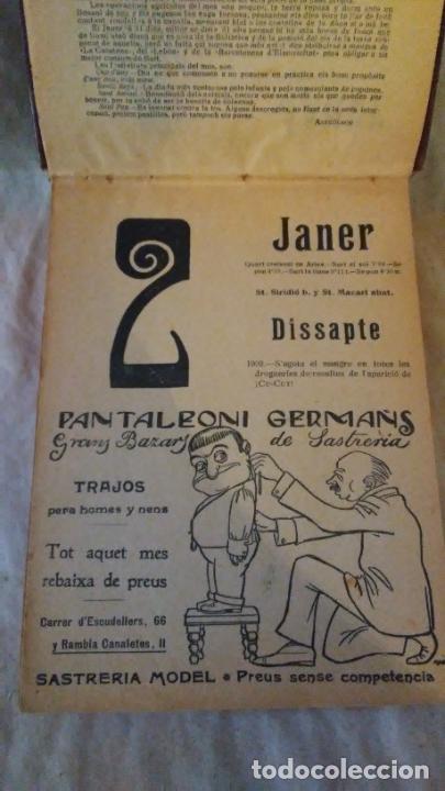 Libros antiguos: Calendari Bloch ¡Cu-Cut! Any 1909. COMPLETO. - Foto 4 - 289881588