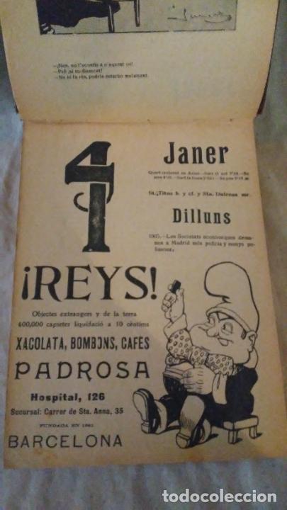 Libros antiguos: Calendari Bloch ¡Cu-Cut! Any 1909. COMPLETO. - Foto 5 - 289881588