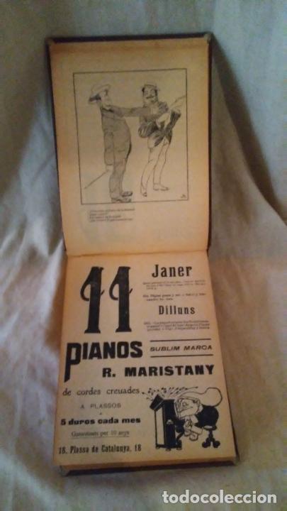Libros antiguos: Calendari Bloch ¡Cu-Cut! Any 1909. COMPLETO. - Foto 6 - 289881588