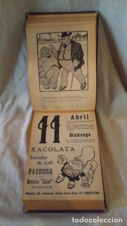 Libros antiguos: Calendari Bloch ¡Cu-Cut! Any 1909. COMPLETO. - Foto 8 - 289881588