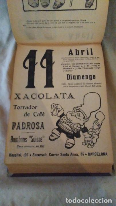 Libros antiguos: Calendari Bloch ¡Cu-Cut! Any 1909. COMPLETO. - Foto 9 - 289881588