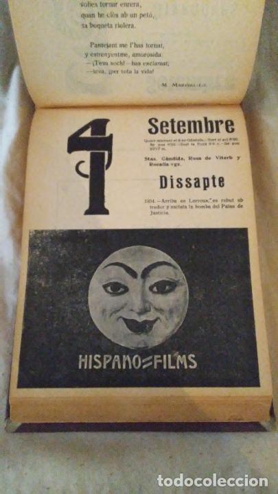 Libros antiguos: Calendari Bloch ¡Cu-Cut! Any 1909. COMPLETO. - Foto 10 - 289881588
