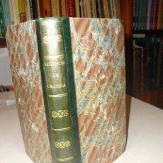 Libros antiguos: 1841 HISTORIA DE LA REGENCIA DE LA REINA MARIA CRISTINA TOMO I ( ÚNICO PUBLICADO) J. FCO. PACHECO. Lote 290098048