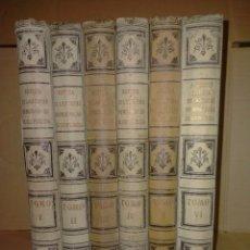Libros antiguos: GOROSABEL. NOTICIA DE LAS COSAS MEMORABLES DE GUIPÚZCOA.(6TOMOS).1899-1901. E.LOPEZ. Lote 290145413
