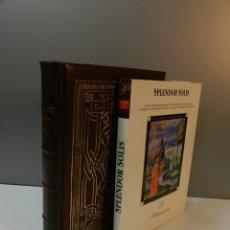 Libros antiguos: FACSIMIL SPLENDOR SOLIS - EDITORIAL PATRIMONIO + LIBRO ESTUDIOS ALQUIMIA ALQUIMISTA. Lote 292087263