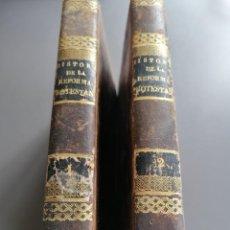 Libros antiguos: AÑO 1827 HISTORIA DE LA REFORMA PROTESTANTE. Lote 293352128