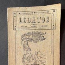 Libri antichi: 1930 - LOBATOS - BILBAO - ESCULTISMO - SCOUTS. Lote 293774458