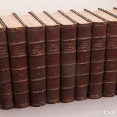 Libros antiguos: HISTORIA GENERAL DE ESPAÑA - MIGUEL MORAYTA - FELIPE GONZALEZ ROJAS ED. 1889 - 1894 COMPLETA. Lote 293780403